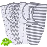 Grey Swaddle Blanket Set