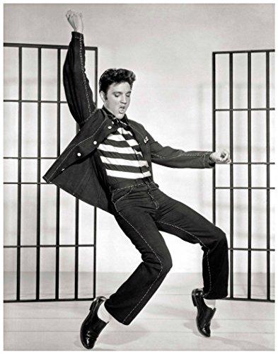 - Photo Art Prints ~ Famous Historic Picture Set: ELVIS Jailhouse Rock. (Image #1, 11