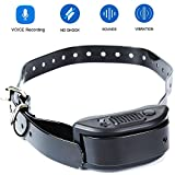 Cheap Bark Collar with Voice Recording 2018 NEW Version 7 Sensitivity Rechargeable Humane Dog No Bark Collar with Vibration and No Harm Shock for collar leash size from 7inch to 26inch