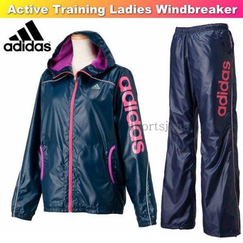 Amazon.co.jp: adidas アディダス レディース 裏メッシュ ウィンドブレーカー 上下  WD462,F45479,WD463,F45483 ネイビー (L) スポーツ\u0026アウトドア