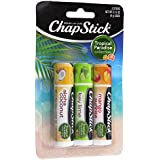 Chapstick Tropical Paradise Collection Lip Care Size .15 Ounce, 3 Sticks