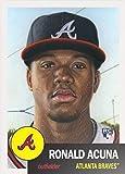 #4: 2018 Topps Living Set #19 Ronald Acuna RC Rookie Atlanta Braves Baseball Card