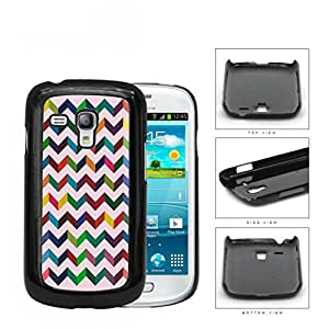 3 Dimensional Chevron In Multiple Colors Hard Plastic Snap On Cell Phone Case Samsung Galaxy S3 SIII Mini I8200