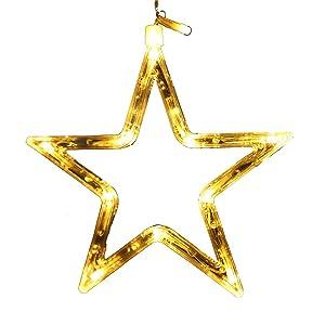 Led estrellas de cinco puntas luces estrellas luces parpadeantes luces cortinas tienda creativas decorativas luces de niña