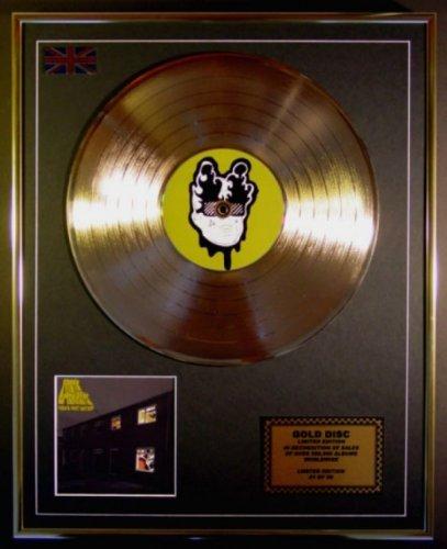 Arctic Monkeys Cd Disco de Oro Disco Edicion Limitada Favourite Worst Nightmare