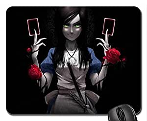 Black Cards Mouse Pad, Mousepad (10.2 x 8.3 x 0.12 inches)