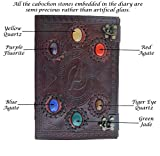 Avengers embossed 10 inches Handmade Leather