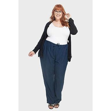 5a99a1007 Calça Pijama Mali Carbono Plus Size Marinho-58  Amazon.com.br ...