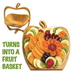 Dried Fruit Gift Basket - Healthy Gourme...