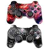 CHENGDAO Wireless Controller 2 Pack for Playstation