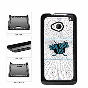 San Jose Ice Plastic Phone Case Back Cover HTC One M7