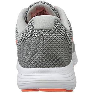 NIKE Women's Revolution 3 Running Shoe, Wolf Grey/Hyper Orange/Cool Grey, 7 C/D US