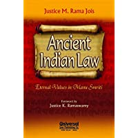Ancient Indian Law- Eternal Values in Manu Smriti, (Reprint)