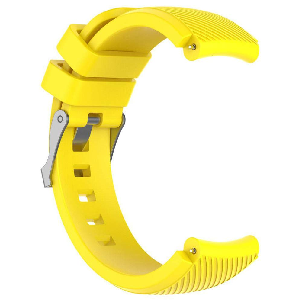 Amazon.com : Leless ReplacementSoftSilicagel Sports Watch Band Strap For HUAMI Amazfit Stratos Smart Watch 2 (Yellow) : Beauty