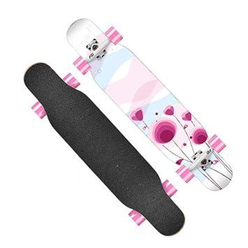 Skateboarding Scooter De Cuatro Ruedas Para Niños Principiante Chica De Cuatro Ruedas Scooter De Carretera Corea ...