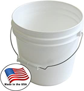Argee RG502 Bucket, White (Pack of 10)