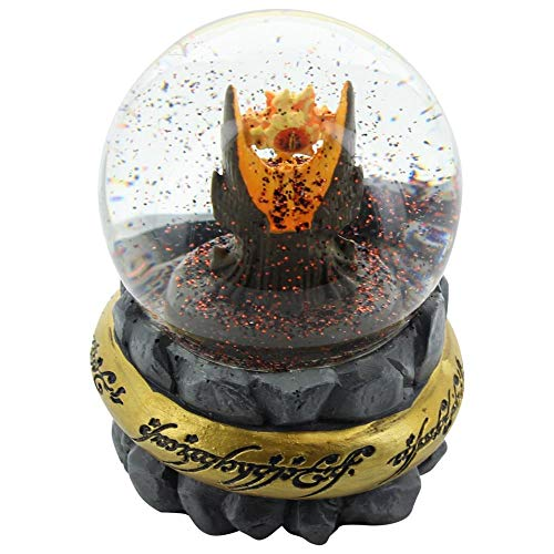 Nerd Block Lord of the Rings Eye of Sauron Snow Globe (Lord Of The Rings Eye Of Mordor)