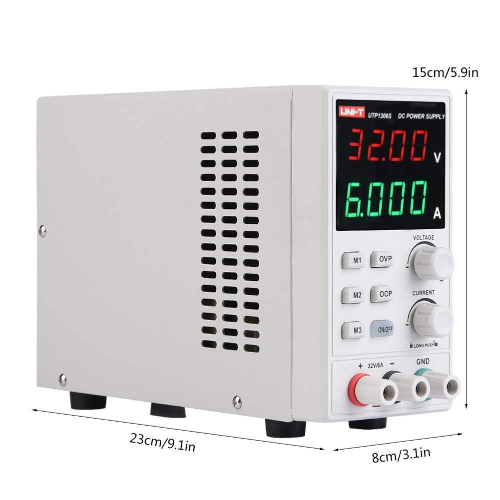 220V UNI-T UTP1306S dalimentation /électrique variable Lab 32V 6A DC simple Sortie de commutation Type dalimentation r/églable Alimentation AC220V DC Alimentation