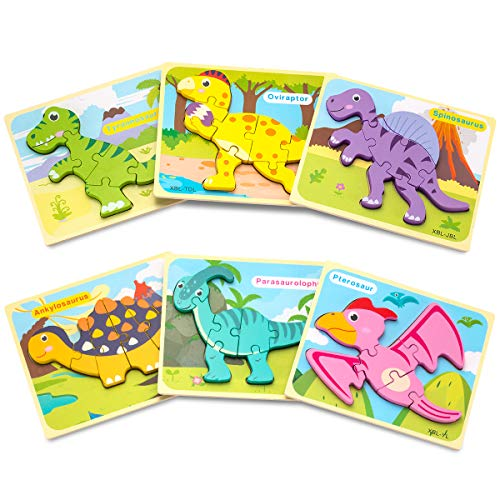 Toddler Puzzles, Puzzles for 2 Year Old Animals & Vehicle Puzzles for 1 2 3 Year Old Girls Boys Toddlers
