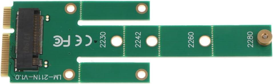 Almencla MSATA PCI-E 3.0 SSD to NGFF M.2 B Key SATA Interface Adapter Expansion Card