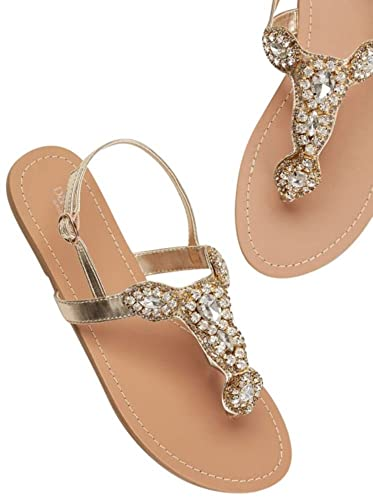 d076f9e3bac20c David s Bridal Crystal Sling Back Sandal Style Roslyn