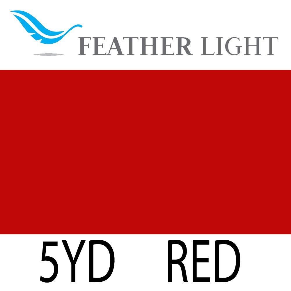 Heat Transfer Vinyl HTV - Feather Light by SISER, 15'' x 5yd - Red by Siser