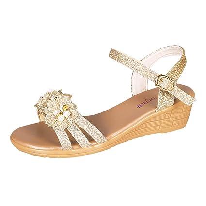 8adccfc4bee Amazon.com: YEZIJIN Hot Sale! Women's Ladies Summer Flower Bling ...