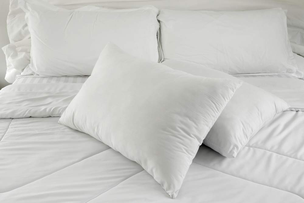 East Coast Bedding White Down Pillow (Good Support)