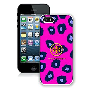 Unique iPhone 5 5S Case ,Hot Sale And Popular Designed Case With Tory Burch 24 White iPhone 5 5S Cover Phone Case