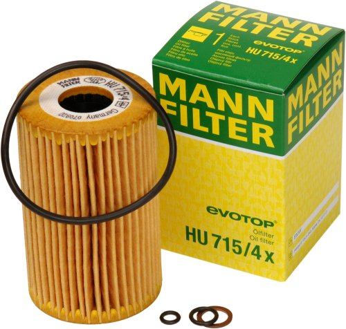 Mann-Filter HU 715/4 X Metal-Free Oil Filter 1999 Bmw 318ti Oil
