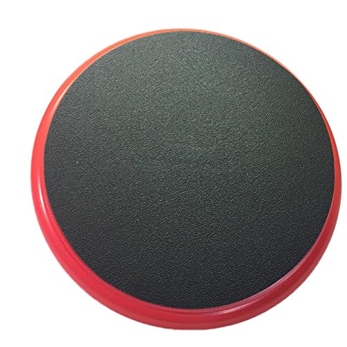 Padded bucket lid/seat (Red) by Bucket Lidz (Red frame/black (Black Ball Bucket)