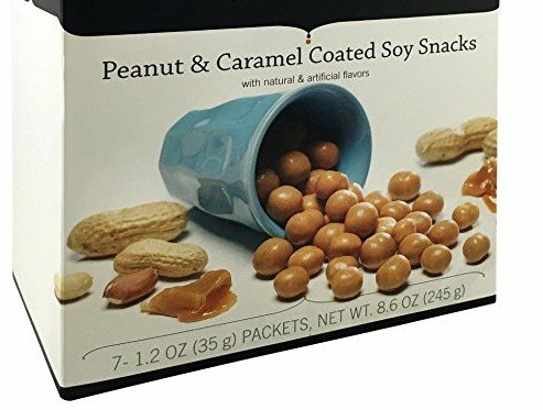 Bariatric Food Direct Peanut & Caramel Coated Soy ProtiSnax - Products Food Bariatric