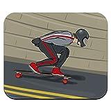 Longboarding Skateboarding - Longboard Mouse Pad Mousepad
