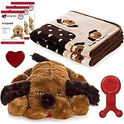 Snuggle Puppy - New Puppy Starter Kit (Brown Mutt)