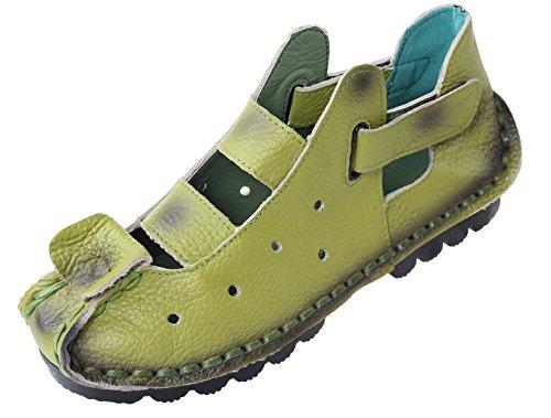 mela mela Donna Stile Vogstyle 2 Nuove Nuove Nuove Scarpe Verde Sandali Tacco Casuali Basso 6naAazwxq