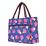 Lunch Bag Large Size Tote Bag Traveling Camping Working Lunch Bag for Women/Men,R