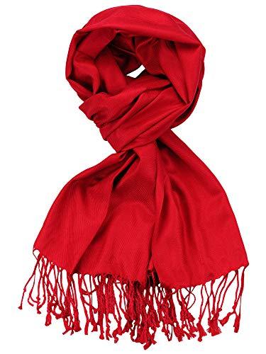 NYFASHION101 Women's Fabulous Plus Size Soft Pashmina Viscose Scarf Shawl Wrap