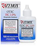 Zymox Otic with Hydrocortisone 1.0% 1.25 Oz Dog Cat Ear Infections