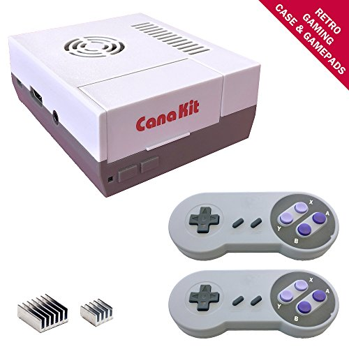 CanaKit Raspberry Pi 3 B+ (B Plus) Retro Gaming Kit with 2 Retro Gamepads by CanaKit (Image #2)'