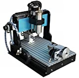 GOWE 110V/220V 4 Axis 800W Spindle 1.5KW VFD CNC Router with Ball Screw Upgrade from CNC Router Engraver