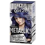 Got2b Metallic Permanent Hair Color, M67 Blue Mercury (Pack of 2)