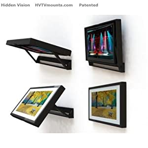 HIDE YOUR TV - Flip-Around TV mount for a 50
