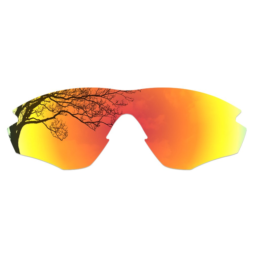 Dynamix Polarized Replacement Lenses for Oakley M2 Sunglasses - Multiple Options (Fire Red, Polarized Enhanced) by Dynamix
