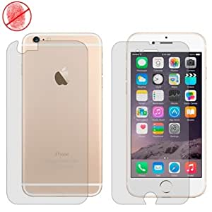 CALANS Anti-glare Screen Protector Front and Back Film for iPhone 6 Plus