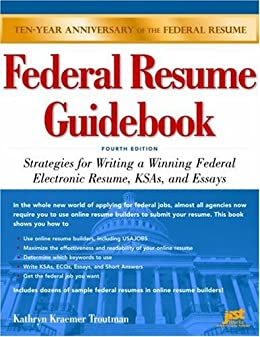 Amazon federal resume guidebook strategies for writing a federal resume guidebook strategies for writing a winning federal electronic resume ksas and fandeluxe Image collections