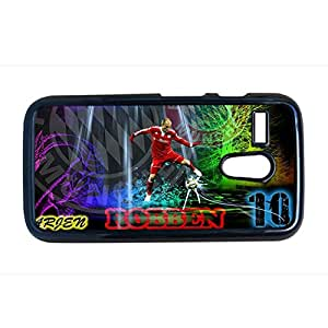 Generic Quilted Back Phone Case For Women With Arjen Robben For Moto G Choose Design 4