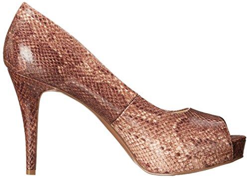 NINE WEST nwCAMYA3 - Zapatos para mujer Light Natural Snake