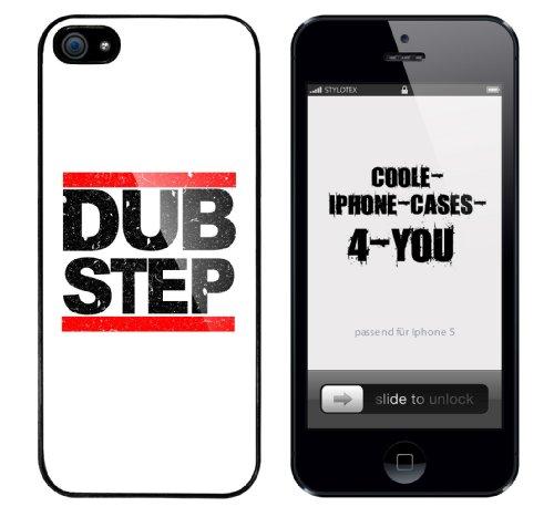 Iphone 5 Case Dub Step Rahmen schwarz