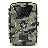 AKASO Trail Camera with Infrared Night Vision 1080P HD 12 MP Surveillance Camera Waterproof