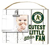 "KH Sports Fan 10""x 8"" Oakland Athletics Clip It Weathered Baby Logo Photo Frame"